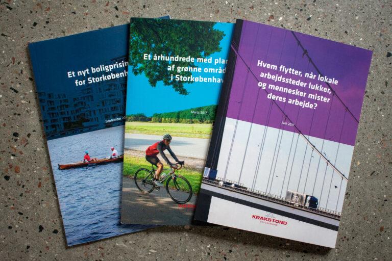 Temahæfter til Kraks Fond Byforskning (nu BUILD/AAU)