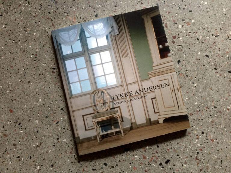 Fotobog til billedkunstner Lykke Andersen