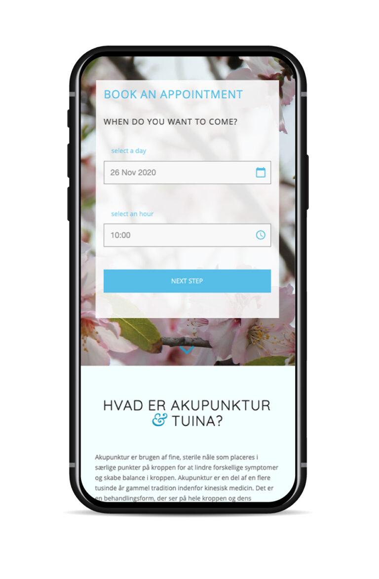 Website til Akupunkturligvis